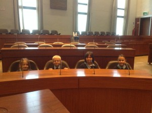 School council Mayoral visit 011